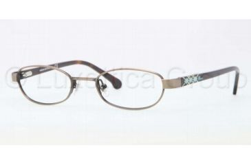 5900f23c12ca Brooks Brothers BB1008 BB1008 Eyeglass Frames 1582-4518 - Taupe Frame, Demo Lens  Lenses