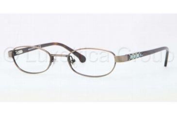 Brooks Brothers BB1008 BB1008 Bifocal Prescription Eyeglasses 1582-4518 - Taupe Frame, Demo Lens Lenses