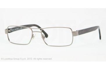 Brooks Brothers BB1011 BB1011 Progressive Prescription Eyeglasses 1507-53 - Gunmetal Frame, Demo Lens Lenses