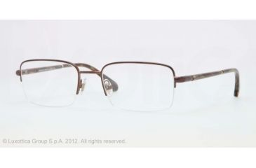Brooks Brothers BB1016 BB1016 Progressive Prescription Eyeglasses 1571-52 - Bronze Frame