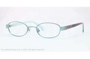 Brooks Brothers BB1021 Eyeglass Frames 1635-46 - Seafoam Frame