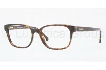 Brooks Brothers BB2001 Single Vision Prescription Eyeglasses 6001-4916 - Dark Tortoise
