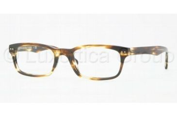 Brooks Brothers BB2003 Single Vision Prescription Eyeglasses 6045-5120 - Tortoise