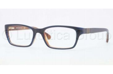Brooks Brothers BB2007 BB2007 Single Vision Prescription Eyeglasses 6059-4816 - Spotty Tortoise Frame, Demo Lens Lenses