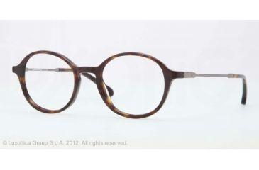 Brooks Brothers BB2012 BB2012 Single Vision Prescription Eyeglasses 6001-47 - Dark Tortoise Frame, Demo Lens Lenses
