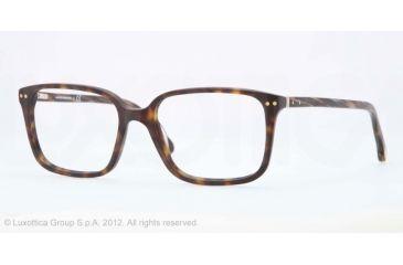 Brooks Brothers BB2013 BB2013 Eyeglass Frames 6001-52 - Dark Tortoise Frame, Demo Lens Lenses