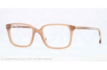 Brooks Brothers BB2013 BB2013 Eyeglass Frames 6063-52 - Lt Brown Translucent Matte Frame, Demo Lens Lenses