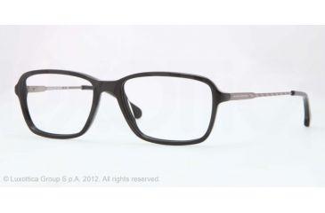 Brooks Brothers BB2015 Eyeglass Frames 6000-52 - Black Frame, Demo Lens Lenses