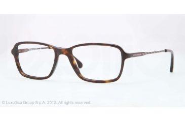 Brooks Brothers BB2015 Eyeglass Frames 6001-52 - Dark Tortoise Frame, Demo Lens Lenses