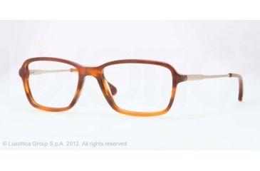 Brooks Brothers BB2015 Eyeglass Frames 6067-52 - Havana Frame, Demo Lens Lenses