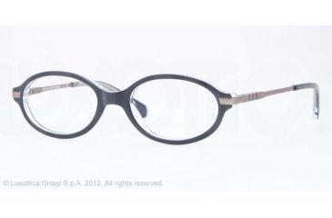 Brooks Brothers BB2016 Single Vision Prescription Eyeglasses 6070-47 - Dark Blue Frame
