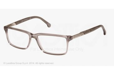 2647e2e1f5 Brooks Brothers BB2019 Eyeglass Frames 6074-53 - Grey Crystal Frame
