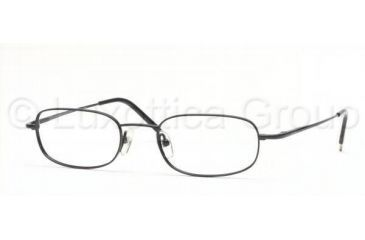 Brooks Brothers BB367T Single Vision Prescription Eyewear 1224T-4920 - Black