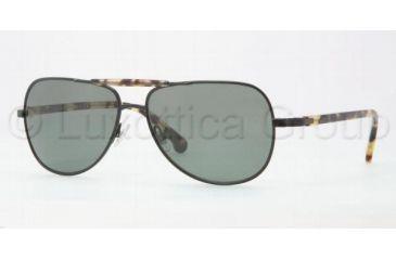 Brooks Brothers BB4003S Single Vision Prescription Sunglasses BB4003S-10049A-5714 - Lens Diameter 57 mm, Frame Color Black Green