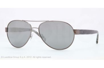 Brooks Brothers BB4011 BB4011 Progressive Prescription Sunglasses BB4011-15676G-58 - Lens Diameter 58 mm, Frame Color Gunmetal