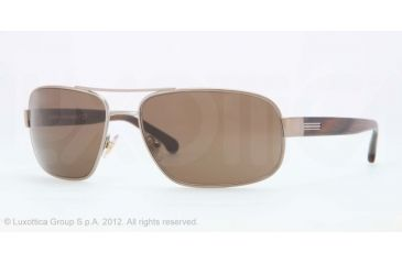 Brooks Brothers BB4012 BB4012 Bifocal Prescription Sunglasses BB4012-158273-60 - Lens Diameter 60 mm, Frame Color Taupe