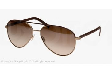Brooks Brothers BB4015Q Sunglasses 158213-59 - Taupe
