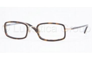 Brooks Brothers BB459 Eyeglasses, Dark Tortoise Frame, 50mm Lens Diameter