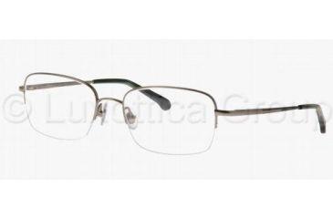 Brooks Brothers BB484T Eyeglass Frames 1524T-5418 - Gun/Dark Green