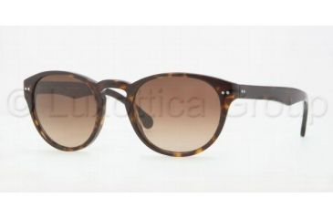 Brooks Brothers BB5002S Sunglasses 600113-4820 - Tortoise Smoky Brown Gra