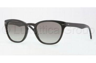 Brooks Brothers BB5003S Single Vision Prescription Sunglasses BB5003S-600011-4920 - Lens Diameter 49 mm, Frame Color Black