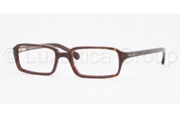 Brooks Brothers BB712 Eyeglasses Styles 44 mm Lense Diameter / Dark Tortoise Frame w/Non-Rx Lenses