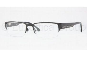 Brooks Brothers METAL MAN OPTICAL FRAME BB494 Single Vision Prescription Eyewear 1500-5318 - Black