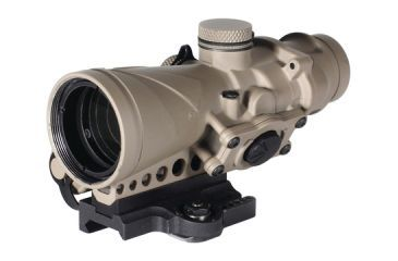Browe Combat 4x32mm Optic .300 AAC Blackout Red Horseshoe And Dot Reticle ADM Mount Flat Dark Earth