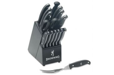 Browning 480 Kitchen Cutlery Set in Black Block 322480