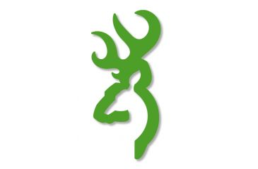 Browning 6 Lime Green Decal 3922000654