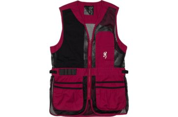 1-Browning Bg Mesh Shooting Vest R-hand Women