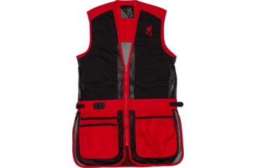 1-Browning Bg Mesh Shooting Vest R-hand Youth