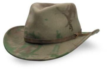 Browning Bismarck Lite Felt Hat, CamoWoods, L-XL 308280282