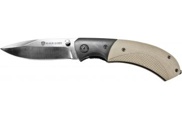 Browning Black Label Checkmate Knife - Sand w/Silver Blade 320144BLO