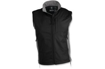 Browning Black Label - Tracer Soft Shell Vest, Black/Gray, L 3053829903