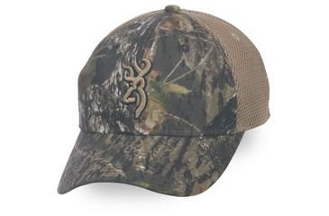 Browning Breeze Youth Cap, Mossy Oak Break-Up Infinity/Tan, Youth cap adjustable fit 30832520Y