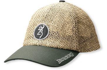 Browning Straw Cap, Sage Brim 308106541
