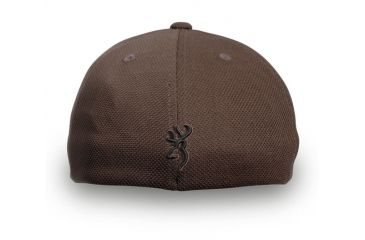 Browning Coronado Pique Cap with Buckmark, Chocolate, L/XL 308007984
