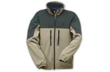 Browning Cross Country WindKill Jacket, Khaki/Loden, S 3041304001