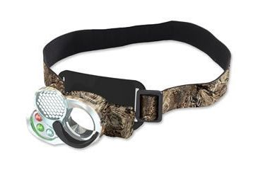 Browning Black Ice Phantom LED Headlamp, Mossy Oak Duck Blind, Model 8345
