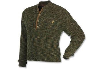Browning Full Curl Wool Sweater, AllTerrain Camo, XL 3002022904