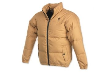 Browning Junior High Country Down Jacket, Gold, S 3046093401