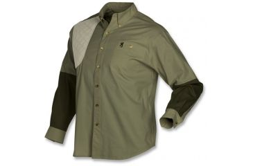 Browning Junior Wasatch T-Shirt - Long Sleeve, Forest, S 3011376501