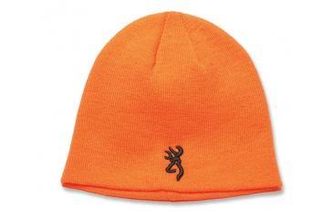Browning Kenai Knit Beanie, Blaze, one size fits most 308509011
