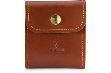 Browning Leather Cartridge Case - Brown 12195