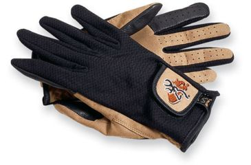 Browning Mesh Back Shooting Gloves, Black, XL 3070119004