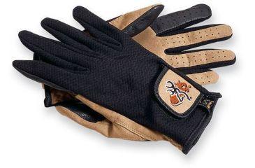 Browning Mesh Back Shooting Gloves, Black/Tan, S 3070118801