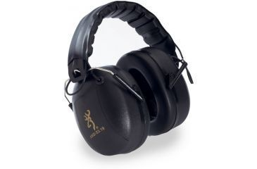 Browning Midas Electronic Hearing Protector Headset - Black 12627