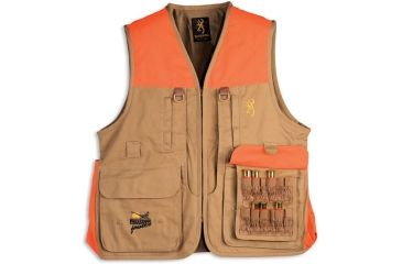 Browning Pheasants Forever Vest Field, Tan, S 3051163201