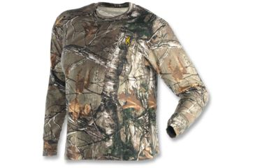 Browning Wasatch Long Sleeve T-Shirt, Realtree Xtra, 2XL 3011262405